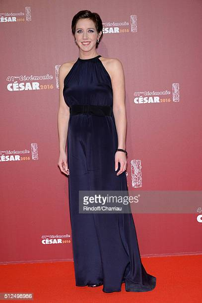 Sara Giraudeau arrives at The Cesar Film Awards 2016 at Theatre du Chatelet on February 26 2016 in Paris France