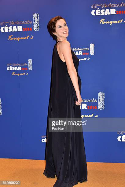 Sara Giraudeau attends the Dinner at Le Fouquet' after the Cesar Film Awards 2016 on February 26 2016 in Paris France Ê