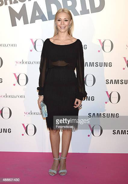 Sara Gomez attends the 'Yo Dona' Party at the NH Collection Eurobuilding Hotel on September 17 2015 in Madrid Spain