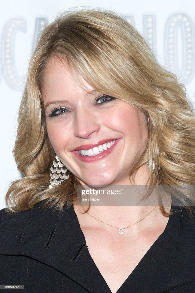 Sara Haines attends the 'Scandalous' Broadway Opening Night'at Neil Simon Theatre on November 15, 2012 in New York City.