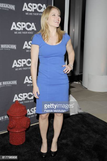 Sara Haines attends The Young Friends of The ASPCA presents 'MISSION ADOPTABLE' Annual Fundraiser at The IAC Building on October 14 2010 in New York...
