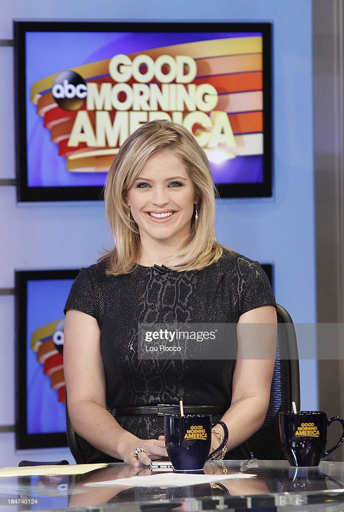 AMERICA - Sara Haines on 'Good Morning America,' 10/14/13, airing on the ABC Television Network. SARA