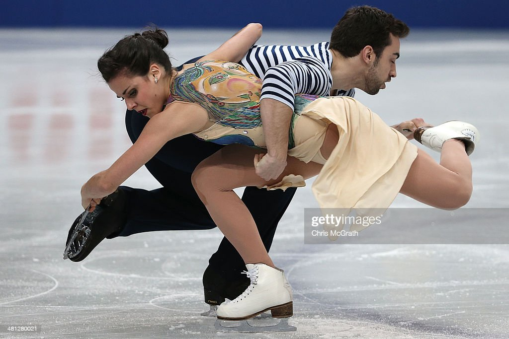 ISU World Figure Skating Championships 2014 - DAY 4