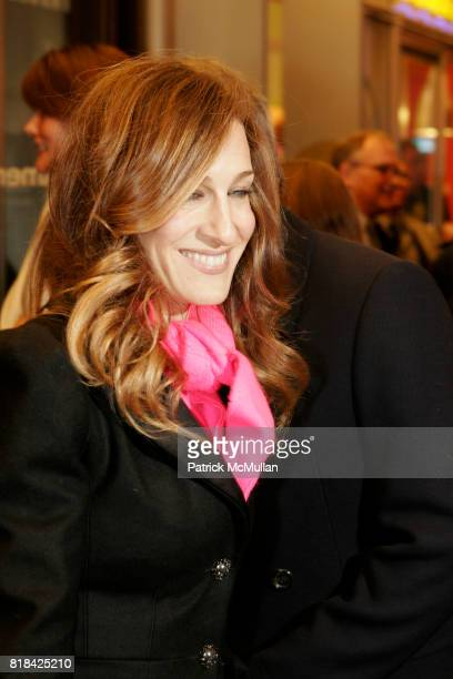 Sara Jessica Parker attends Opening Night of Present Laughter at American Airlines Theater on January 21 2010 in New York City