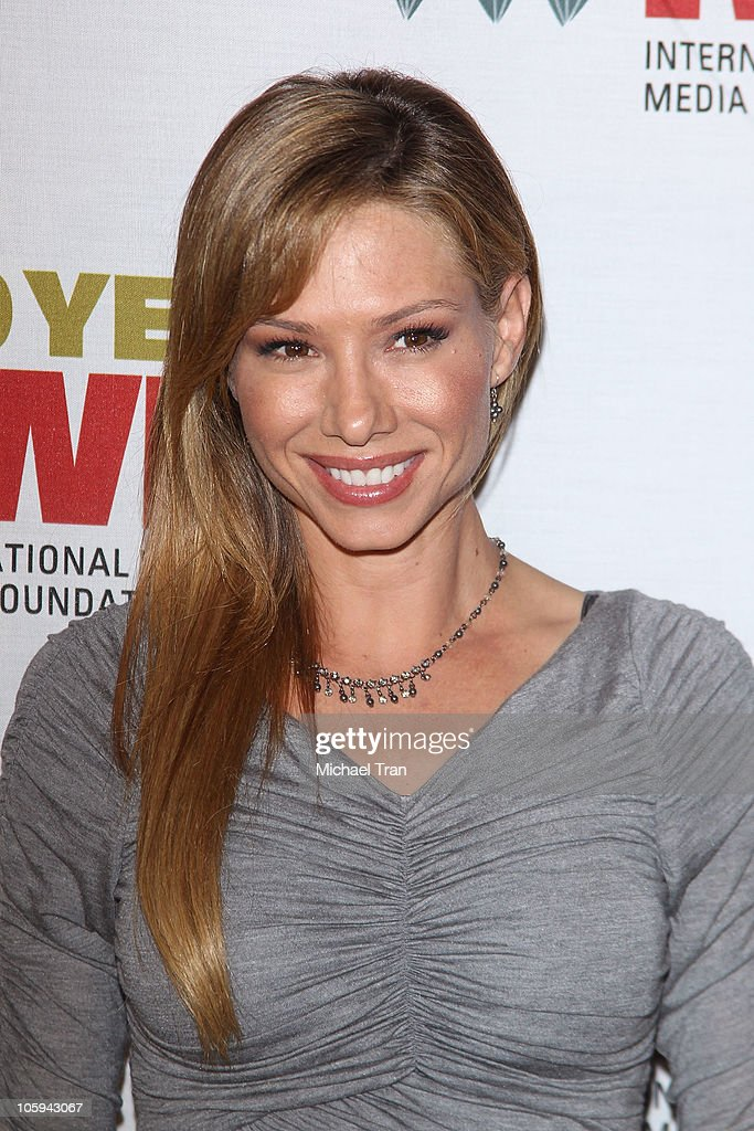 Sara Joy Brown arrives at The International Women's Media Foundation's 'Courage In Journalism' awards held at Beverly Hills Hotel on October 21, 2010 in Beverly Hills, California.