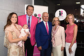 Sara LeonardiMcGrath Glenn McGrath Prime Minister Malcolm Turnbull Lucy Turnbull and McGrath Foundation CEO Petra Buchanan pose at the McGrath Day...