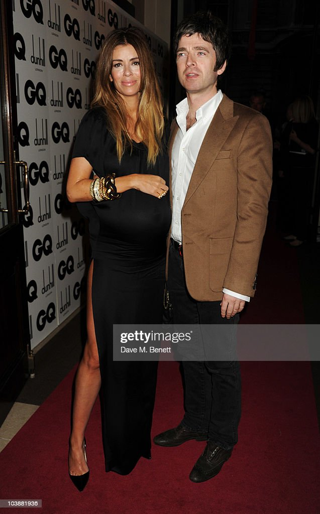 Sara Macdonald and Noel Gallagher arrive at the GQ Men Of The Year Awards 2010 at The Royal Opera House on September 7, 2010 in London, England.