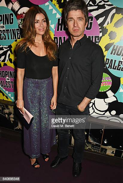 Sara MacDonald and Noel Gallagher attend 'Hoping's Greatest Hits' the 10th anniversary of The Hoping Foundation's fundraising event for Palestinian...