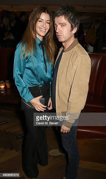Sara MacDonald and Noel Gallagher attend the London launch of Casamigos Tequila and Cindy Crawford's book 'Becoming' hosted by Rande Gerber George...