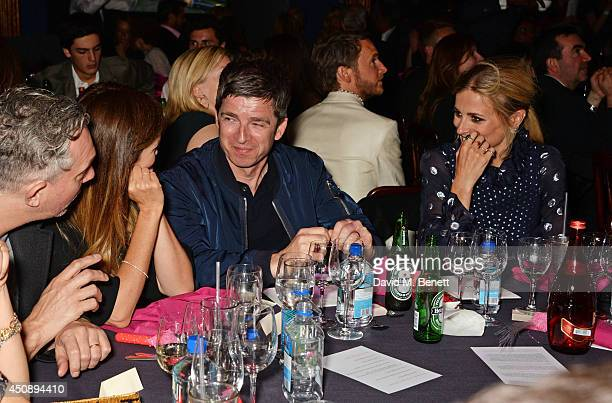 Sara Macdonald Noel Gallagher and Laura Bailey attend The Hoping Foundation's 'Starry Starry Night' Benefit Evening for Palestinian Refugee Children...