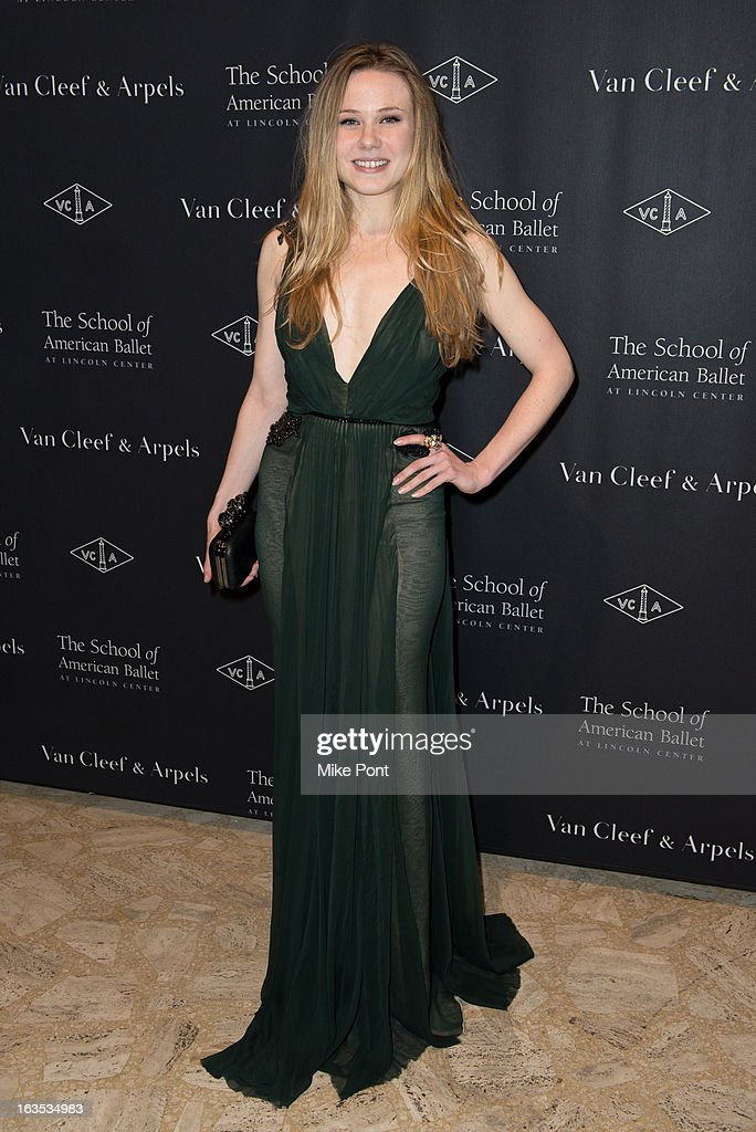 Sara Mearns attends the School of American Ballet 2013 Winter Ball at David H. Koch Theater, Lincoln Center on March 11, 2013 in New York City.