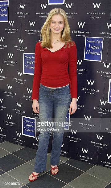 Sara Paxton during 2nd Annual Danny Seo's SuperNatural Super Suite at The W Hotel in Westwood California United States