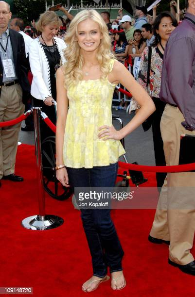 Sara Paxton during 'Pirates of the Caribbean At World's End' World Premiere Arrivals at Disneyland in Anaheim California United States