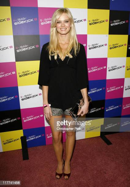 Sara Paxton during TMobile Sidekick iD Launch Arrivals in Los Angeles California United States