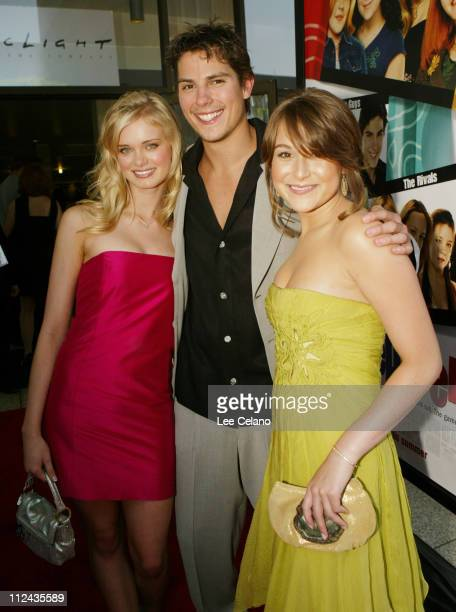 Sara Paxton Sean Faris and Alexa Vega during 'Sleepover' World Premiere Red Carpet at ArcLight Cinerama Dome in Hollywood California United States
