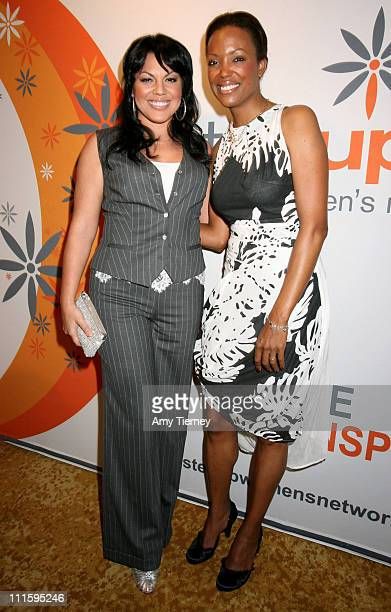 Sara Ramirez and Aisha Tyler during Step Up Women's Network 4th Annual Inspiration Awards at Beverly Wilshire Hotel in Beverly Hills California...