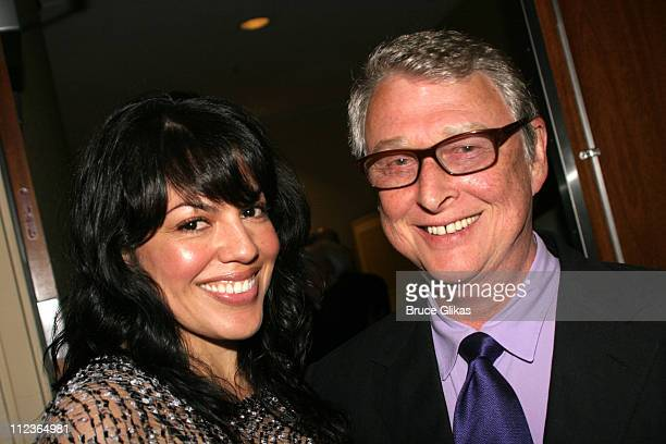 Sara Ramirez and Mike Nichols during 71st Annual Drama League Awards at Marriott Marquis Hotel in New York NY United States