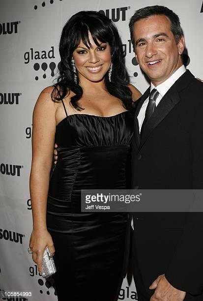 Sara Ramirez and Neil Giuliano President of GLAAD