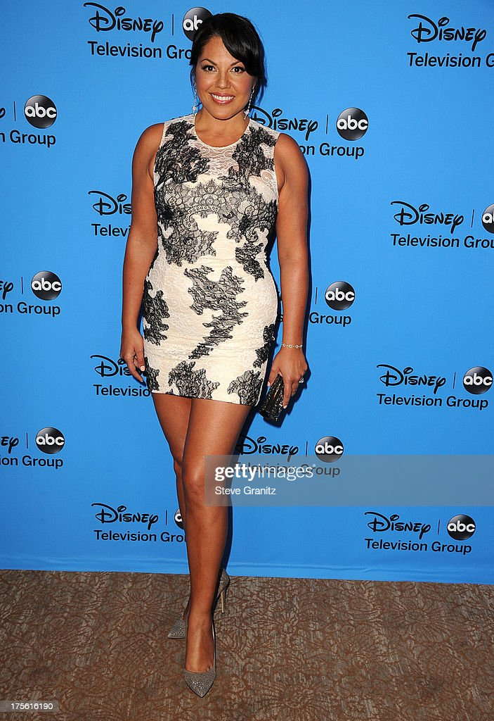 Sara Ramirez arrives at the 2013 Television Critics Association's Summer Press Tour - Disney/ABC Party at The Beverly Hilton Hotel on August 4, 2013 in Beverly Hills, California.