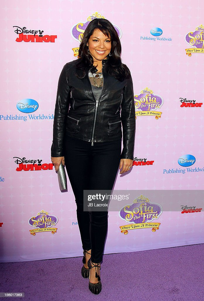 Sara Ramirez attends the premiere of Disney Channels' 'Sofia The First: Once Upon a Princess' at Walt Disney Studios on November 10, 2012 in Burbank, California.