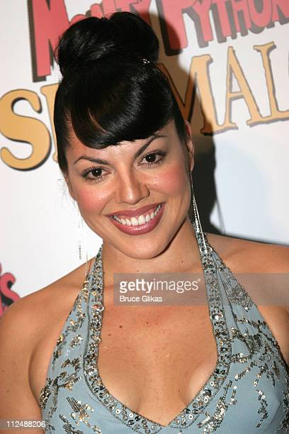 Sara Ramirez during Monty Python's 'Spamalot' Opening Night on Broadway After Party at Roseland Ballroom in New York City New York United States