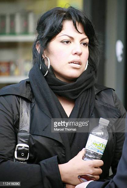 Sara Ramirez during Sara Ramirez Sighting in New York City May 17 2007 at Streets of Manhattan in New York City New York United States
