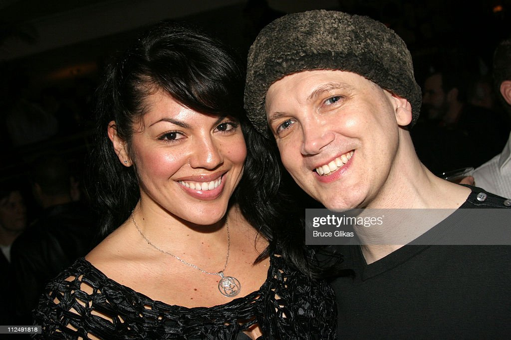 Sara Ramirez of 'Spamalot' and Charles Busch during The Actors Fund 20th Anniversary Performance of 'Vampire Lesbians of Sodom' with Julie Halston...