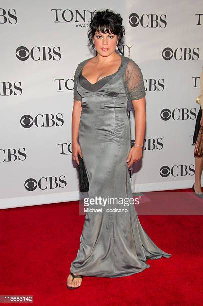 Sara Ramirez presenter during 60th Annual Tony Awards Arrivals at Radio City Music Hall in New York City New York United States