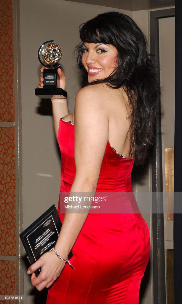 Sara Ramirez, winner Best Performance by a Featured Actress in a Musical for 'Monty Python's Spamalot'