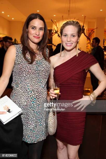 Sara Ruffin Costello and Victoria Floathe attend Anthropologie Hosts US Book Launch of BLOW BY BLOW at Anthropologie at Rockefeller Center on...