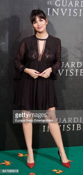 Sara Salamo attend 'El Guardian Invisible' premiere at Capitol cinema on March 1 2017 in Madrid Spain