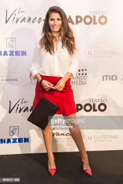 Sara Salamo attends 'Nacidos Para Bailar' Photocall at Nuevo Teatro Apolo on October 5 2017 in Madrid Spain
