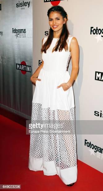 Sara Salamo attends the Fotogramas Magazine cinema awards 2017 on March 06 2017 in Madrid Spain