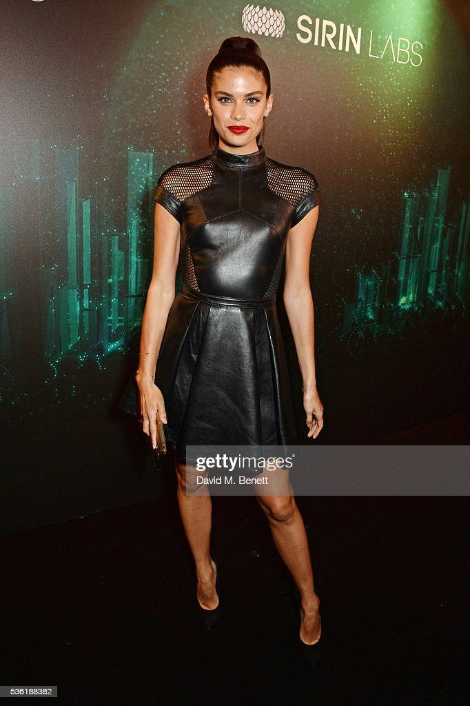 <a gi-track='captionPersonalityLinkClicked' href=/galleries/search?phrase=Sara+Sampaio&family=editorial&specificpeople=8530560 ng-click='$event.stopPropagation()'>Sara Sampaio</a> attends as SIRIN LABS Launches SOLARIN at One Marylebone on May 31, 2016 in London, England.