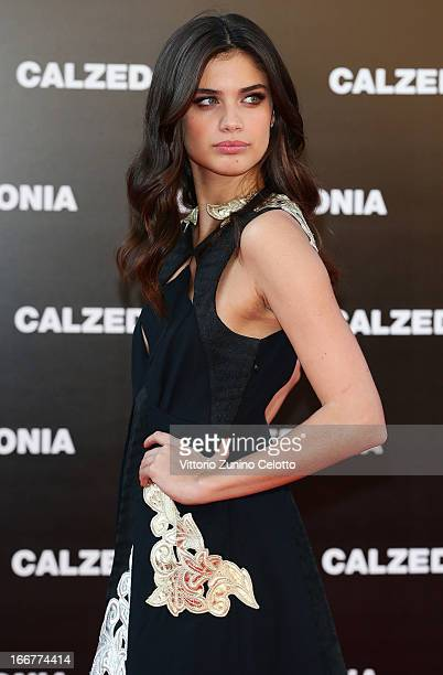 Sara Sampaio attends Calzedonia Summer Show Forever Together on April 16 2013 in Rimini Italy