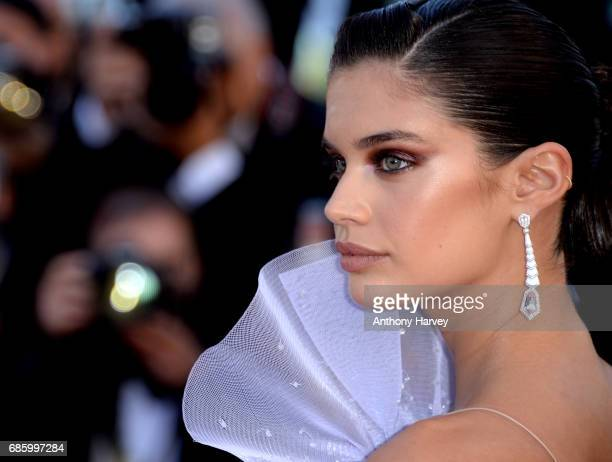 Sara Sampaio attends the '120 Battements Par Minutes ' screening during the 70th annual Cannes Film Festival at Palais des Festivals on May 20 2017...