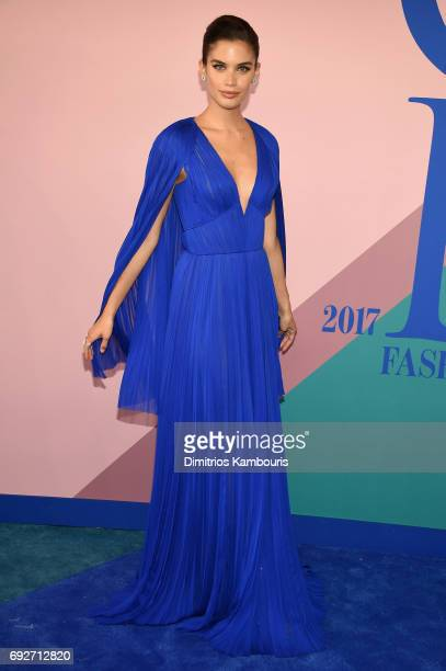 Sara Sampaio attends the 2017 CFDA Fashion Awards at Hammerstein Ballroom on June 5 2017 in New York City