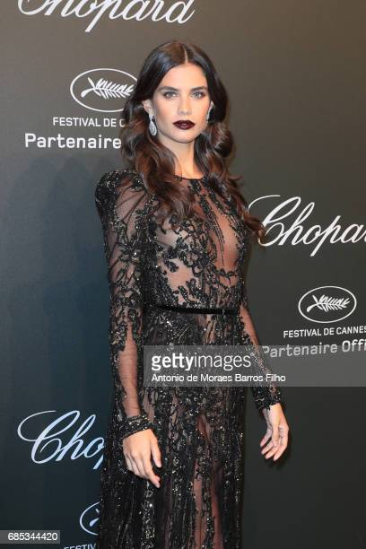 Sara Sampaio attends the Chopard Party during the 70th annual Cannes Film Festival at on May 19 2017 in Cannes France