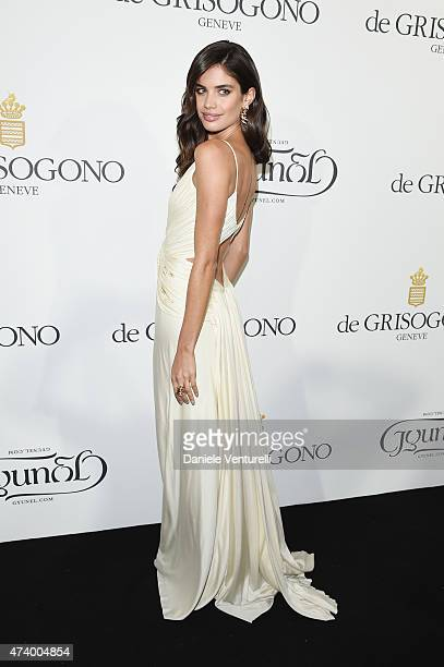 Sara Sampaio attends the De Grisogono party during the 68th annual Cannes Film Festival on May 19 2015 in Cap d'Antibes France
