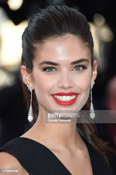 Sara Sampaio attends the 'Inside Out' Premiere during the 68th annual Cannes Film Festival on May 18 2015 in Cannes France