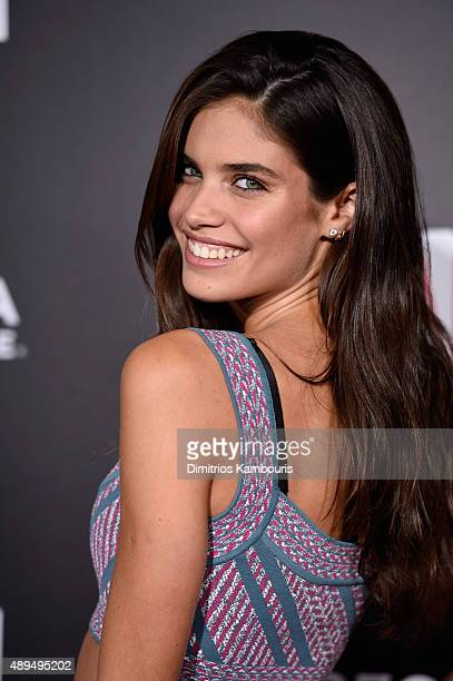 Sara Sampaio attends 'The Intern' New York Premiere at Ziegfeld Theater on September 21 2015 in New York City