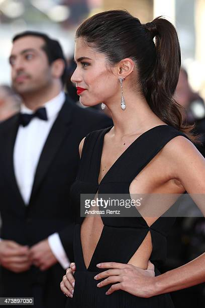 Sara Sampaio attends the Premiere of 'Inside Out' during the 68th annual Cannes Film Festival on May 18 2015 in Cannes France