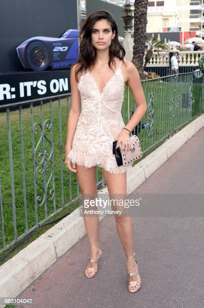 Sara Sampaio is spotted during the 70th annual Cannes Film Festival at on May 18 2017 in Cannes France