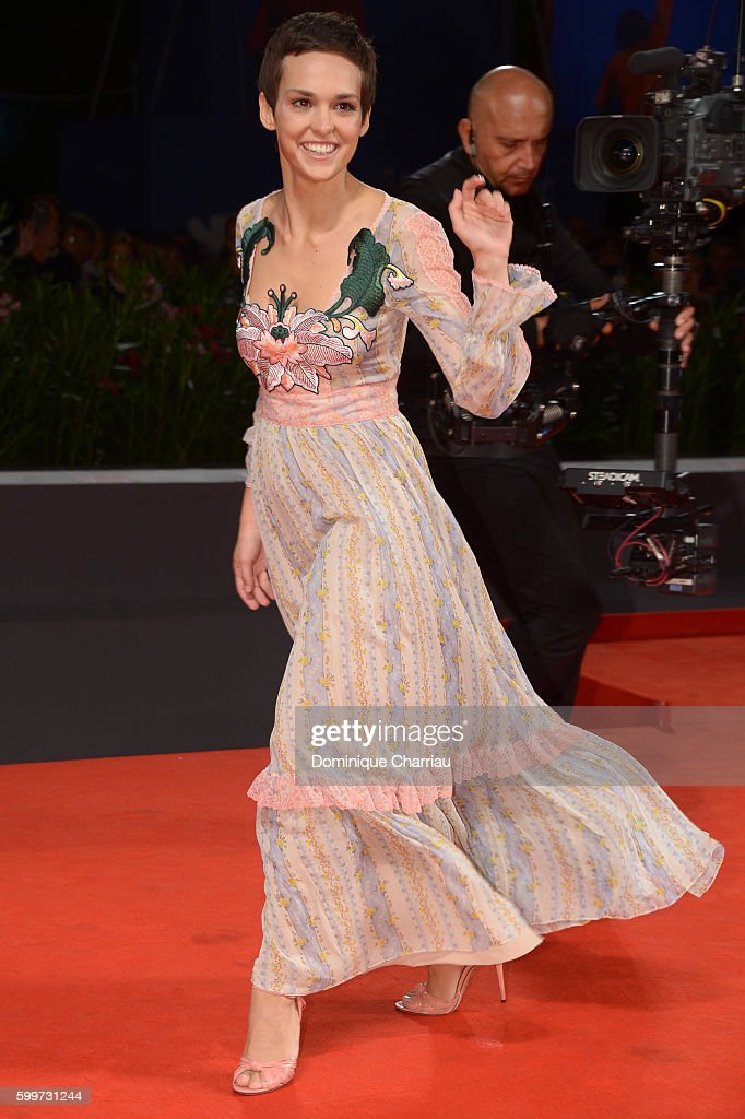 Sara Serraiocco attends the premiere of 'Tommaso' during the 73rd Venice Film Festival at Sala Grande on September 6, 2016 in Venice, Italy.