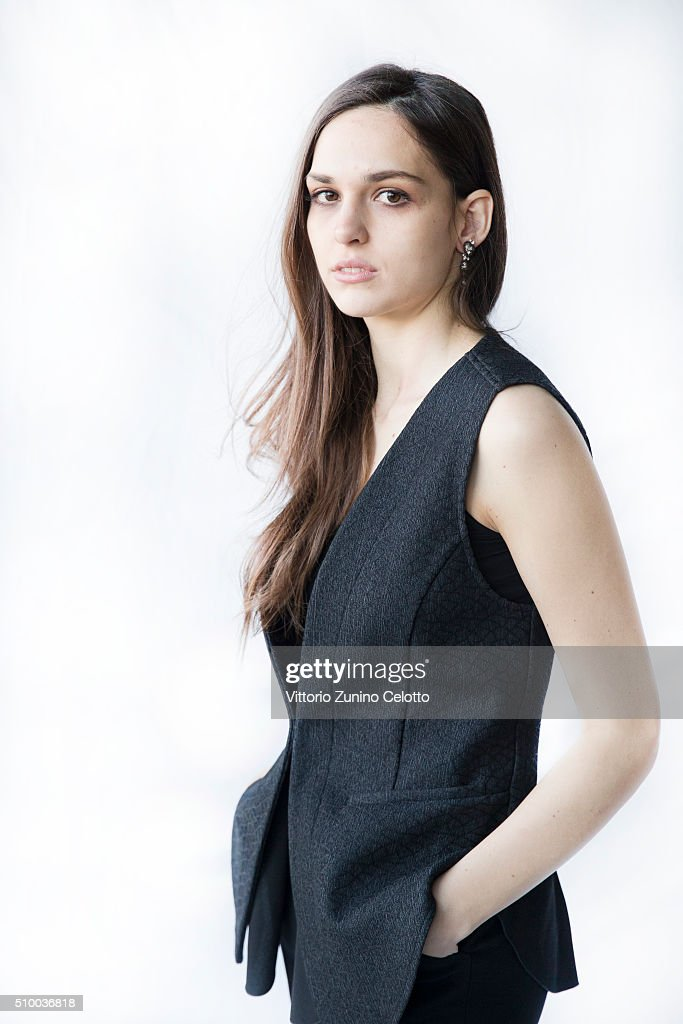 Sara Serraiocco poses for the Shooting Stars 2016 portrait session in cooperation with L'Oreal during the 66th Berlinale International Film Festival Berlin at 25hours Hotel on February 13, 2016 in Berlin, Germany.