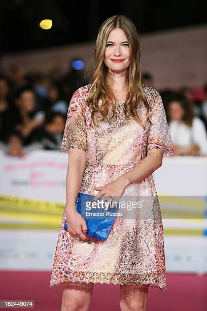 Sara Soulie attends the Fiction Fest 2013 opening night at Auditorium Parco Della Mosica on September 29 2013 in Rome Italy