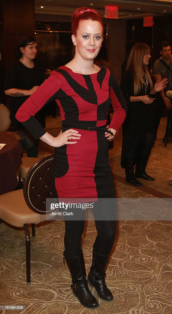 Sara Strand of Pop Cosmetics attends the Caravan Stylist Studio New York Presentation at the Carlton Hotel on February 12, 2013 in New York City.