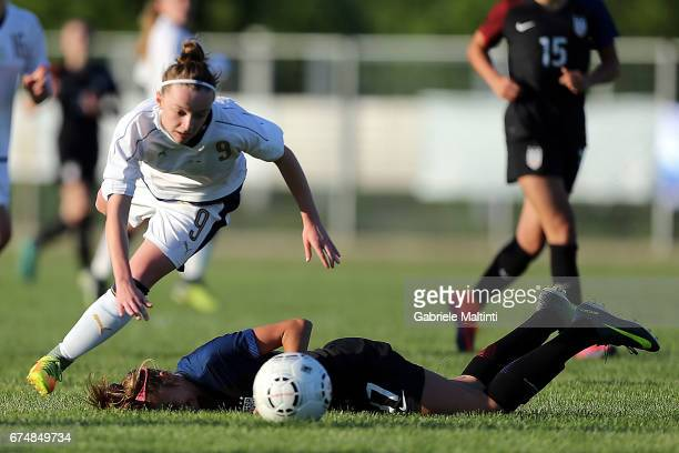 Sara Tamborini of Italy U16 in action during the 2nd Female Tournament 'Delle Nazioni' final match between Italy U16 and USA U16 on April 29 2017 in...