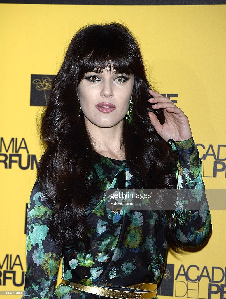 Sara Vega attends the 2014 Perfume Academy awards at Casa de America on March 27, 2014 in Madrid, Spain.
