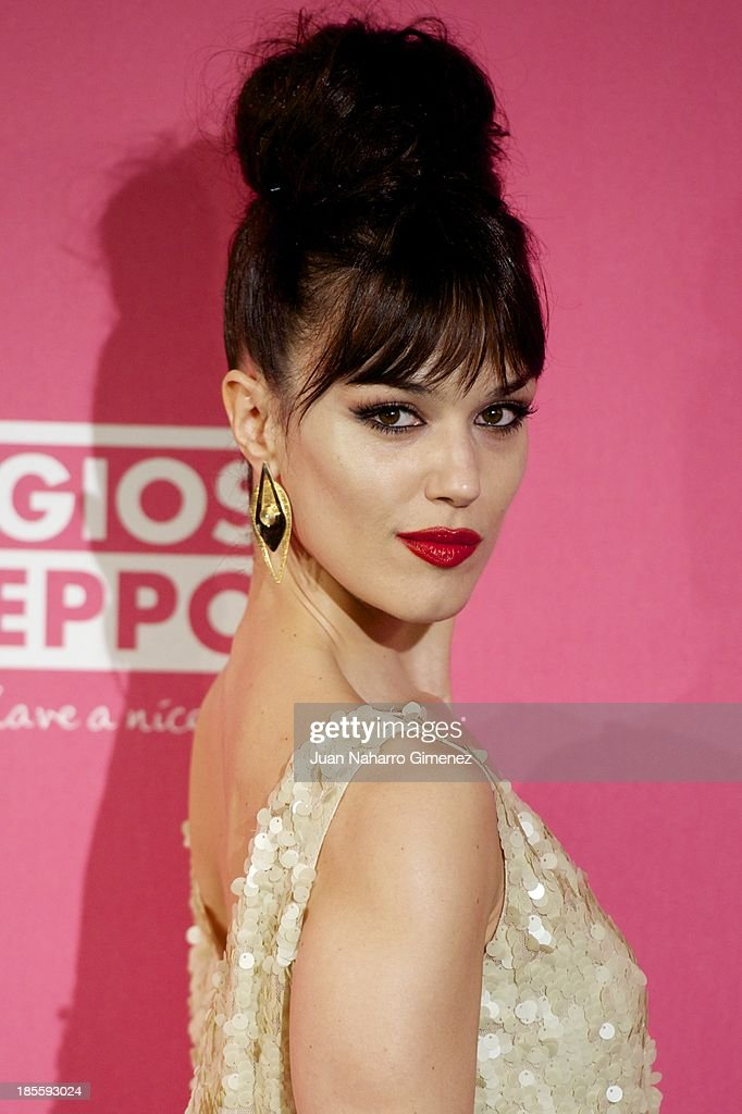 Sara Vega attends the Cosmopolitan Fun Fearless Female Awards 2013 at the Ritz Hotel on October 22, 2013 in Madrid, Spain.